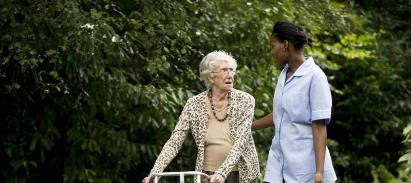 caring for dementia residents