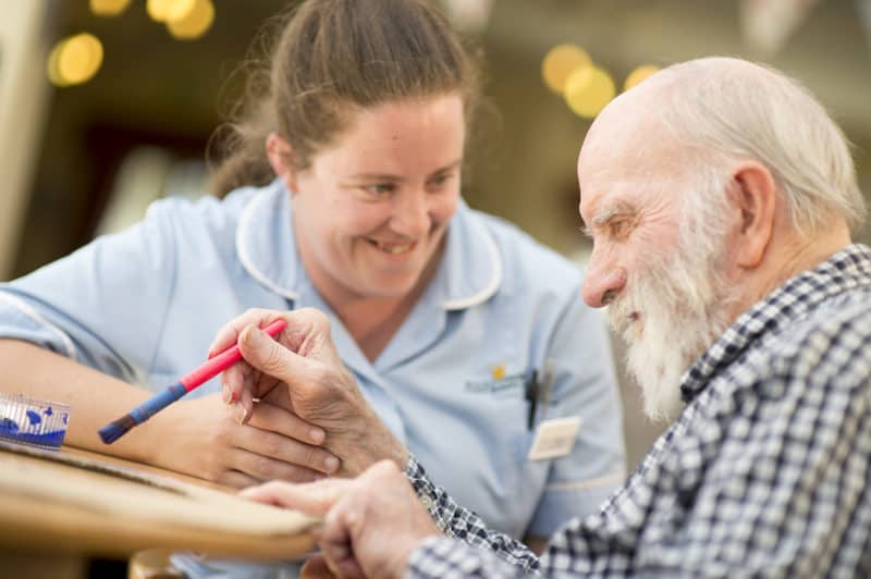 care home residents activities
